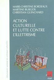Action Culturelle Et Lutte Contre L'Illettrisme - Intérieur - Format classique