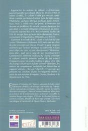 Action Culturelle Et Lutte Contre L'Illettrisme - 4ème de couverture - Format classique