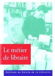 Metier de libraire - Intérieur - Format classique