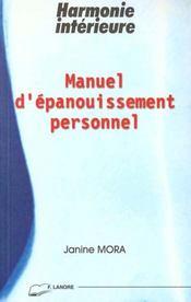 Manuel D'Epanouissement Personnel - Intérieur - Format classique