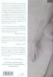 Lady B ; conte érotico.pop - 4ème de couverture - Format classique