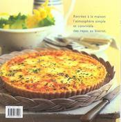 Cuisine de tradition ; les incontournables de nos bistrots - 4ème de couverture - Format classique