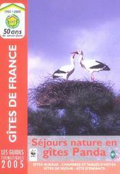 Sejours Nature En Gites Panda - Intérieur - Format classique