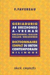 Geriadurig Ar Brezhoneg A Vreman Nouvelle Edition - Couverture - Format classique