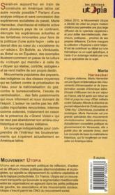 Amérique Latine ; laboratoire pour un socialisme du XXIe siècle - 4ème de couverture - Format classique