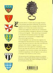 L'heraldique - 4ème de couverture - Format classique