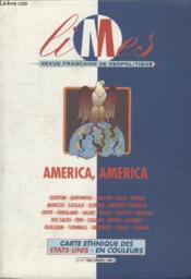 Collection Francaise De Geopolitique. America, America. - Couverture - Format classique