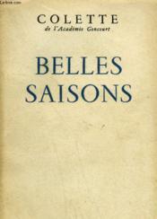 Belles Saisons. - Couverture - Format classique