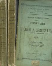 Itineraire Deparis A Jerusalem En 2 Tomes. - Couverture - Format classique