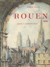 Rouen 1939 - Couverture - Format classique