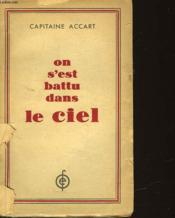 On S'Est Battu Dans Le Ciel - Couverture - Format classique