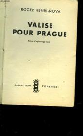 Valise Pour Prague - Couverture - Format classique