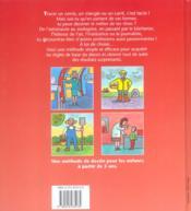 J'Apprends A Dessiner ; Les Métiers De A A Z - 4ème de couverture - Format classique