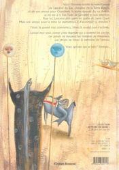 La legende du roi arthur - 4ème de couverture - Format classique