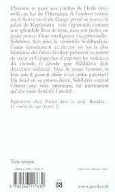 Bouddha T.1 ; Le Reve De Lumiere - 4ème de couverture - Format classique