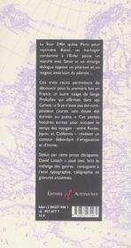 La Tour Vagabonde - 4ème de couverture - Format classique