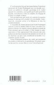 Eternel Present (L') - 4ème de couverture - Format classique