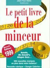 Le Petit Livre De La Minceur 1999 - Intérieur - Format classique