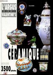 Ceramique - Couverture - Format classique