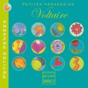 Petites pensées de Voltaire - Couverture - Format classique