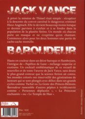 Baroudeur - 4ème de couverture - Format classique