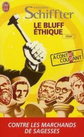 Le bluff éthique - Couverture - Format classique