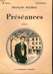 Preseances. Collection : Select Collection N° 304 - Couverture - Format classique