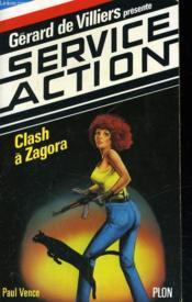 Clash A Zagora - Couverture - Format classique