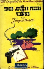 Les Trois Jeunes Filles De Vienne - Couverture - Format classique