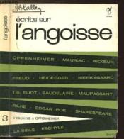 Ecrits Sur L'Angoisse - Collection Ecrits N°3 - Couverture - Format classique