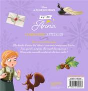 La Reine des Neiges ; petites princesses ; petite Anna, la rencontre inattendue - 4ème de couverture - Format classique