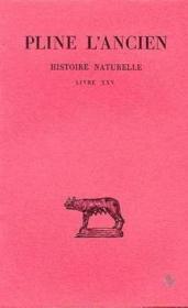 Histoire naturelle L25 - Couverture - Format classique
