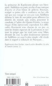 Bouddha T.2 ; Le Sourire Du Sage - 4ème de couverture - Format classique