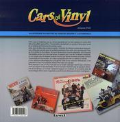Cars of vinyl - 4ème de couverture - Format classique