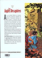 Les aigles décapitées T.12 ; l'esclave - 4ème de couverture - Format classique