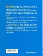 Ensembles, applications ; relations d'équivalence ; lois de composition (groupes) ; logique élémentaire - 4ème de couverture - Format classique