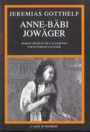 Anne-Babi Jowager - Intérieur - Format classique