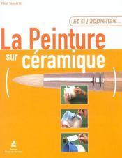 ET SI J'APPRENAIS T.14 ; la peinture sur céramique - Intérieur - Format classique