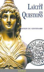 Laïcité en questions - Couverture - Format classique