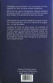 144 chemins de vie (les)/ astrologie - 4ème de couverture - Format classique