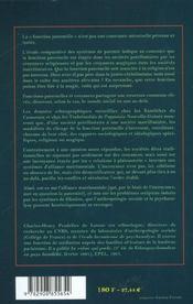 Incroyance et paternites - 4ème de couverture - Format classique
