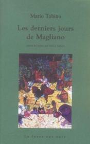 Derniers Jours De Magliano (les) - Couverture - Format classique