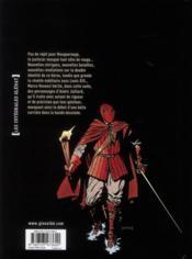 Masquerouge ; intégrale t.4 à t.6 - 4ème de couverture - Format classique
