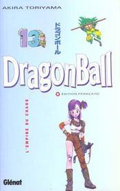 Dragon ball t.13 ; l'empire du chaos - Intérieur - Format classique