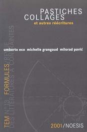 Revue Formules N.5 ; Pastiches, Collages Et Autres Réécritures - Intérieur - Format classique