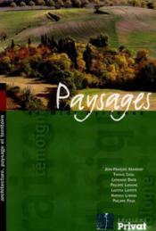 Paysages de midi-pyrenees - Couverture - Format classique