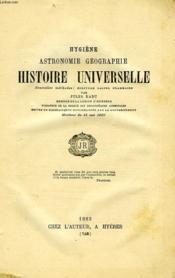 Hygiene, Astronomie, Geographie, Histoire Universelle - Couverture - Format classique
