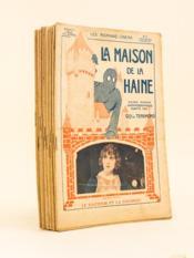La Maison de la Haine (12 numéros - Complet) Grand roman cinématographique adapté par Guy de Teramond. - Couverture - Format classique