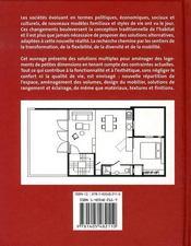 Petits appartements - 4ème de couverture - Format classique