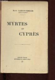 Myrtes Et Cypres - Couverture - Format classique